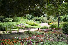 Opinião do jardim foto de stock