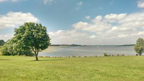 Opinião do lago Foto de Stock Royalty Free