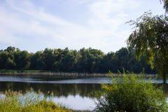 Opinião do lago Fotos de Stock Royalty Free