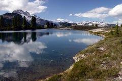 Opinião do lago Elfan Fotos de Stock Royalty Free