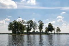 Opinião do lago em Giethoorn Imagem de Stock