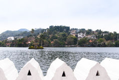Opinião do lago Kandy Foto de Stock Royalty Free
