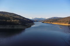 Opinião do lago mountain Fotos de Stock