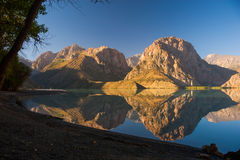Opinião do lago Mountainl Foto de Stock