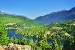 A opinião do lago Ross Foto de Stock