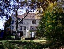 Opinião do leste Harley Clarke Mansion imagens de stock