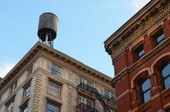 Opinião do Lower Manhattan, NYC, EUA foto de stock
