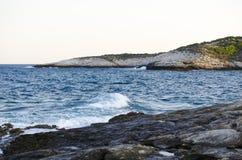 Opinião do mar Imagens de Stock