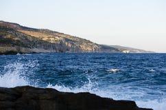 Opinião do mar Foto de Stock