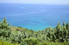 Opinião do mar Fotos de Stock