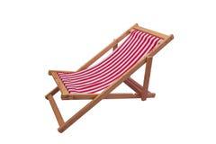 Opinião do mar com um assento de madeira Fotografia de Stock