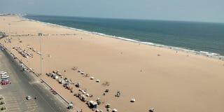 Opinião do mar de Chennai da torre foto de stock