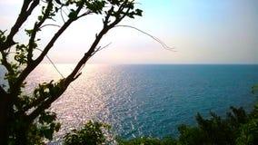 Opinião do mar de Tailândia foto de stock royalty free