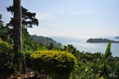 Opinião do mar de Tailândia Koh-Chang Foto de Stock