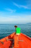 Opinião do mar do barco Fotografia de Stock