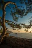 Opinião bonita do mar imagem de stock royalty free