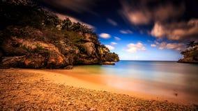 Opinião do mar em Curaçau Foto de Stock Royalty Free