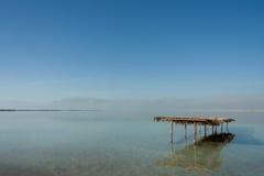 Opinião do Mar Morto, Ein Bokek, Israel Imagem de Stock