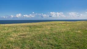 Opinião do mar perto de Kaseberga Foto de Stock Royalty Free