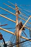 Opinião do mastro Imagem de Stock Royalty Free