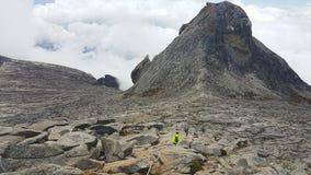 Opinião do Monte Kinabalu Fotografia de Stock