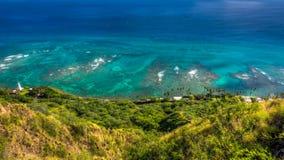 Opinião do Oceano Pacífico imagem de stock royalty free