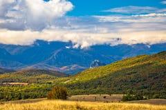Opinião do outono da paisagem da região de Lika Foto de Stock Royalty Free
