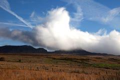 Opinião do outono de Snowdonia Imagem de Stock