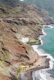 Opinião do pássaro no hotel litoral Las Gaviotas Imagem de Stock Royalty Free