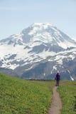 Opinião do padeiro da montanha Fotografia de Stock Royalty Free