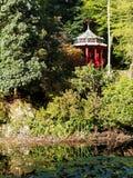 Opinião do pagode Fotografia de Stock