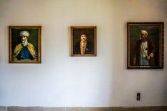 Opinião 16 do palácio de Beiteddine fotos de stock