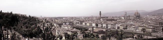 Opinião do panorama de Firenze (Florença) Foto de Stock Royalty Free