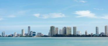 Opinião do panorama de Penang imagens de stock