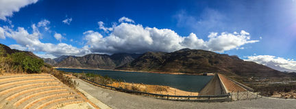 Opinião do panorama do reservatório Imagens de Stock Royalty Free