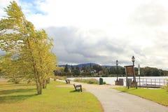 Opinião do parque de Tupperlake Fotografia de Stock
