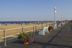 Opinião do passeio à beira mar Fotografia de Stock
