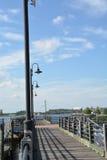Opinião do passeio à beira mar Fotos de Stock
