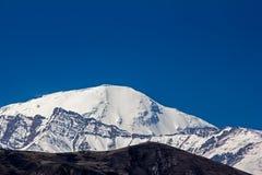 Opinião do pico de Tilicho Imagem de Stock
