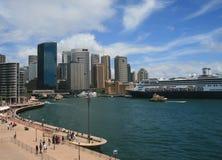 Opinião do porto Foto de Stock Royalty Free