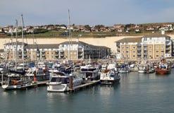 Opinião do porto de Brigghton foto de stock royalty free
