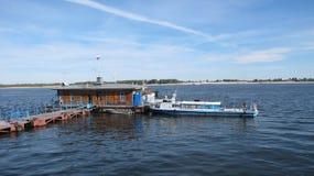 Opinião do porto do russo foto de stock royalty free