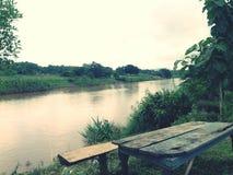Opinião do rio Imagem de Stock Royalty Free