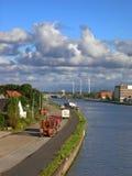 Opinião do rio. fotografia de stock
