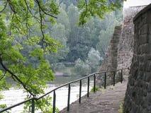 Opinião do rio Fotografia de Stock Royalty Free