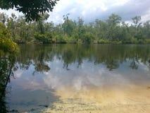 Opinião do rio Fotografia de Stock