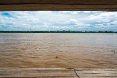 Opinião do Rio Amazonas imagens de stock royalty free