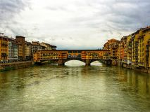 Opinião do rio de Italy's imagens de stock