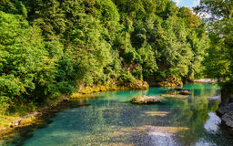 Opinião do rio de Serio Imagens de Stock Royalty Free