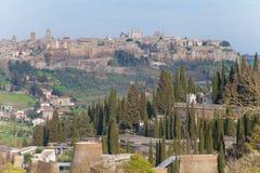 Opinião do ` s de Orvieto Fotos de Stock Royalty Free